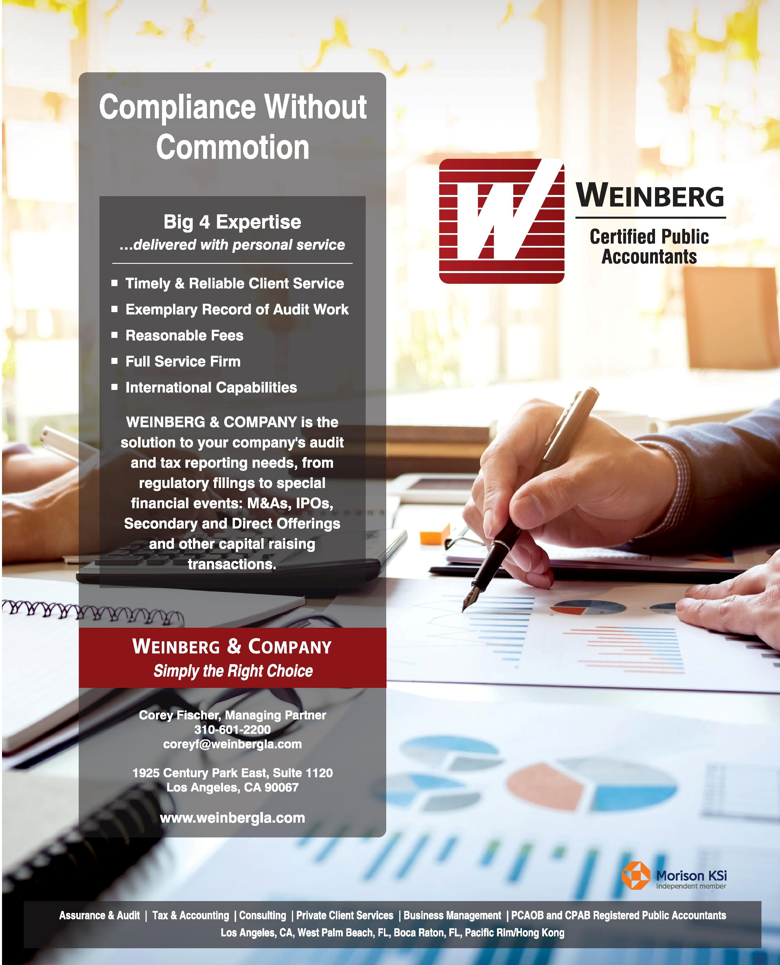 Services | Weinberg & Company